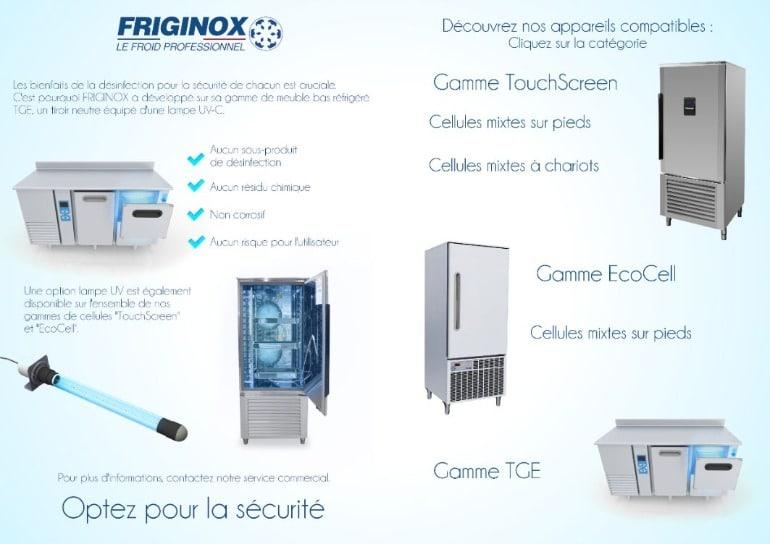 Avec Friginox, optez pour la sécurité face au covid-19