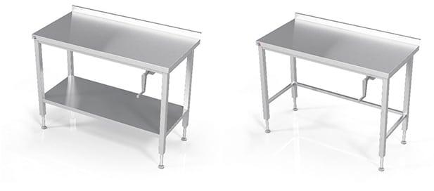 """Les tables de travail confor""""table de L2G : deux moodèles présentés"""