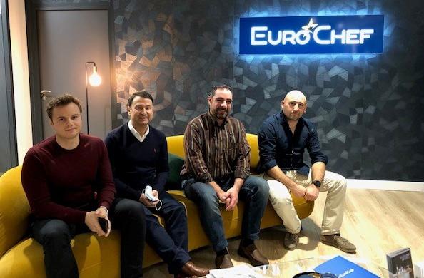 (De gauche à droite) Paul MOISSET & Frédéric MOISSET, tous deux gérants de la société DIMAC. Dominique GOUBERT, gérant de la société GOUBERT. Loïc ROUSSELLE, gérant de la société CLIMATPRO.