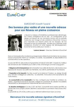 -CP EuroChef Oct 2020 - Nouveaux bureaux Choisy